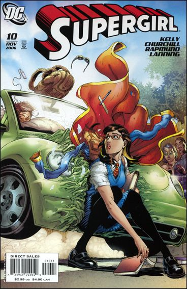 Supergirl (2005) 10-A by DC