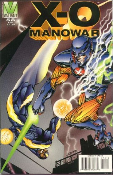 X-O Manowar (1992) 58-A by Valiant