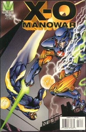 X-O Manowar (1992) 58-A