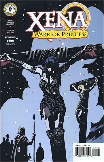 Xena: Warrior Princess (1999) 1-A by Dark Horse