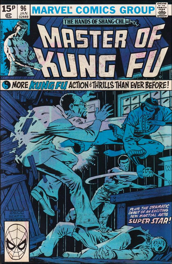 Master of Kung Fu 96-B by Marvel