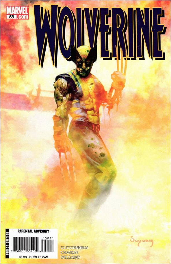 Wolverine (2003)  58-A by Marvel