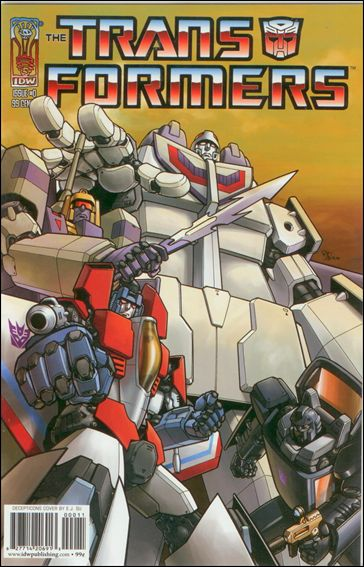 Transformers: Infiltration 0-B by IDW