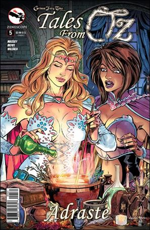 Grimm Fairy Tales Presents Tales from Oz 5-C