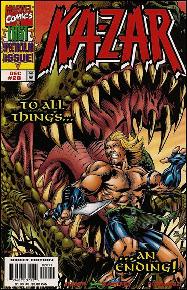 Ka-Zar (1997) 20-A by Marvel