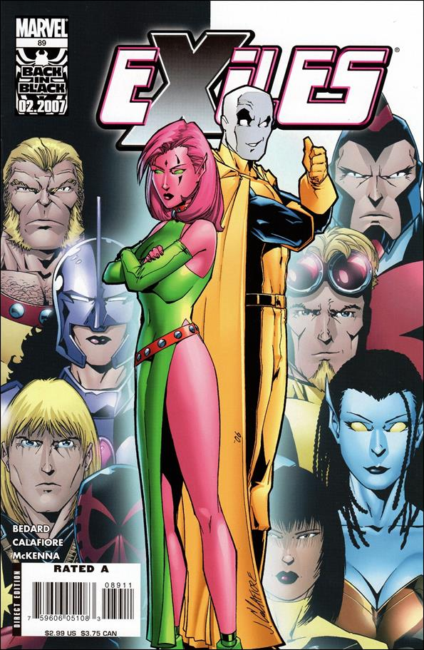 Exiles (2001) 89-A by Marvel