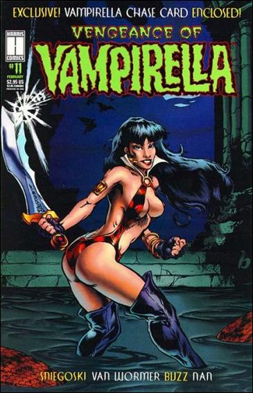 Vengeance of Vampirella 11-A by Harris