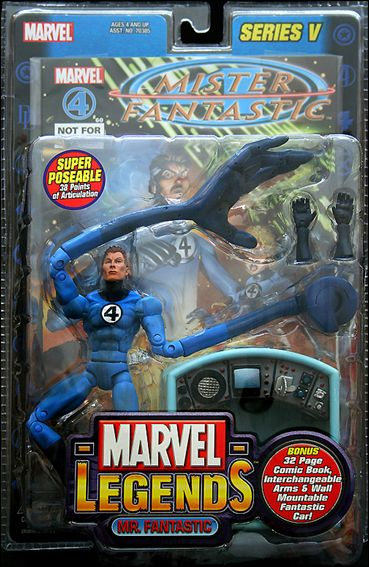 Buying A Car With No Title >> Marvel Legends Mr. Fantastic, Nov 2003 Action Figure by ...