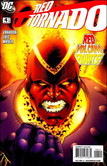 Red Tornado (2009) 4-A by DC