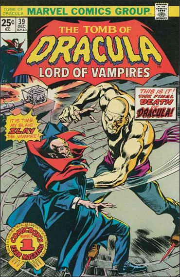 Tomb of Dracula (1972) 39-A by Marvel