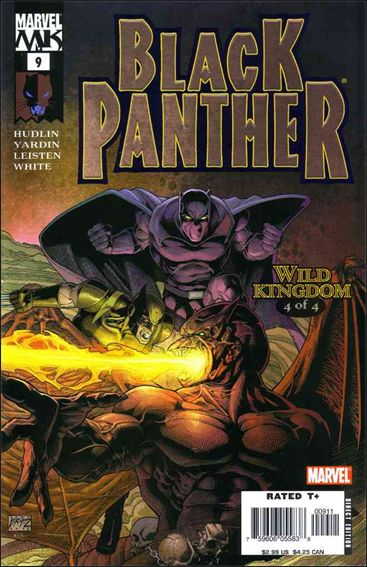 Black Panther (2005) 9-A by Marvel