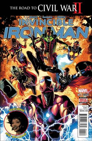 Invincible Iron Man (2015)  11-C
