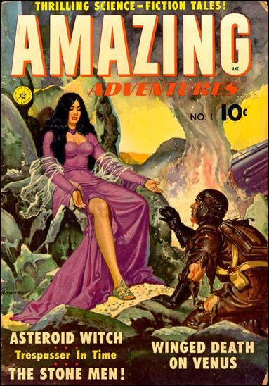 Amazing Adventures (1950) 1-A by Ziff-Davis