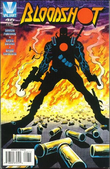 Bloodshot (1993) 46-A by Valiant