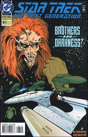Star Trek: The Next Generation (1989) 61-A by DC