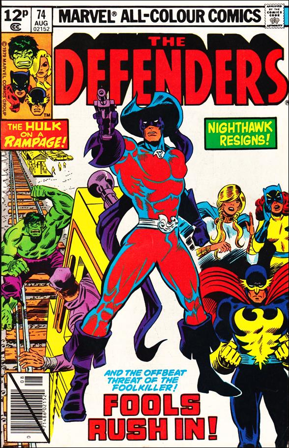 Defenders (1972) 74-B by Marvel