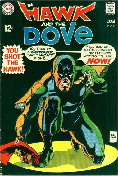 Hawk and the Dove 5-A by DC