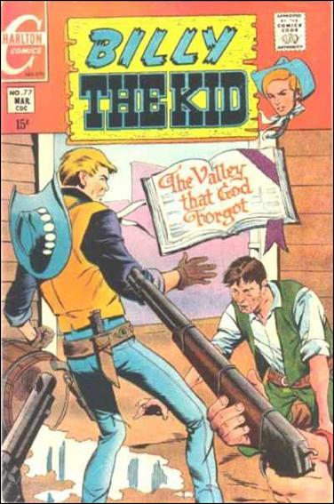 Billy the Kid (1957) 77-A by Charlton