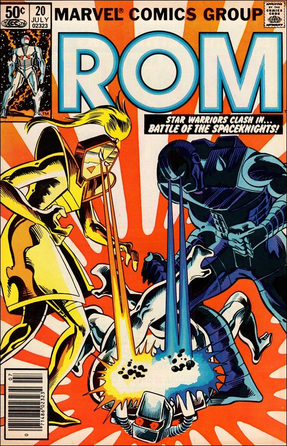 ROM (1979) 20-A by Marvel