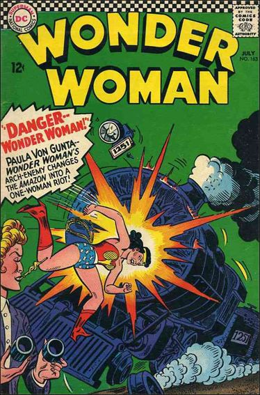 Wonder Woman (1942) 163-A by DC