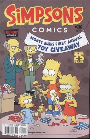 Simpsons Comics 216-A