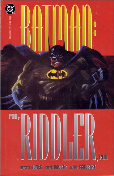Batman: Run, Riddler, Run 3-A by DC