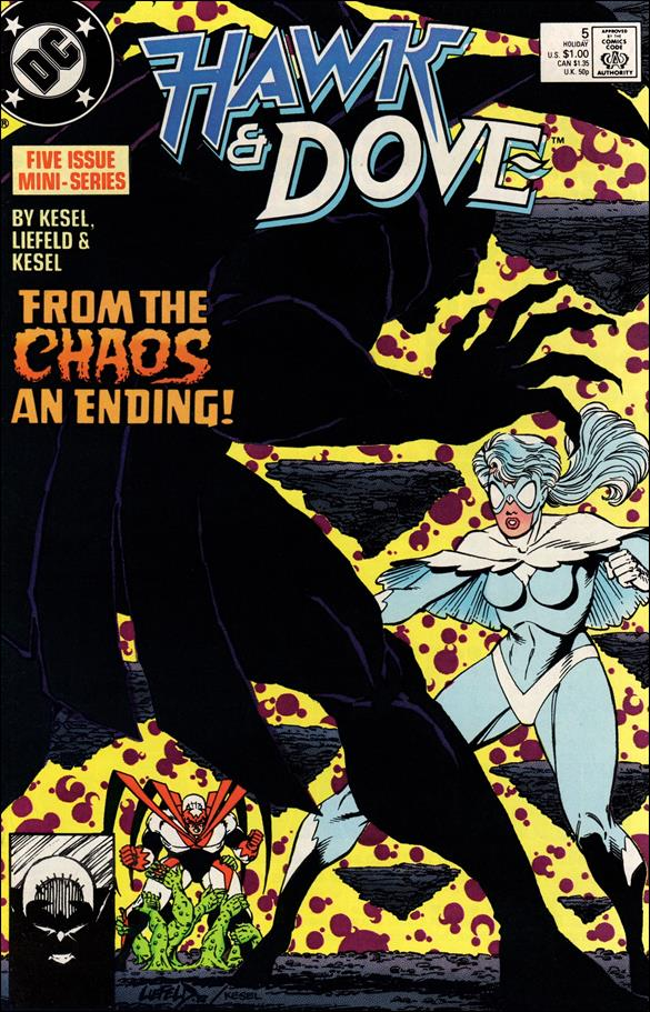 Hawk and Dove (1988) 5-A by DC