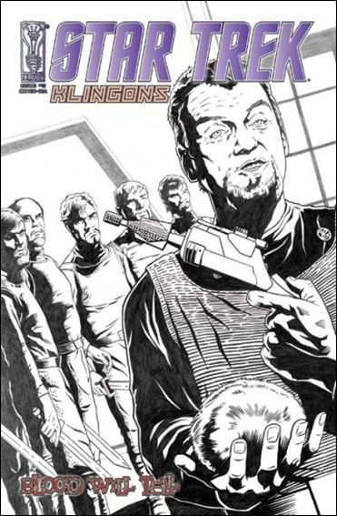 Star Trek: Klingons: Blood Will Tell 2-C by IDW