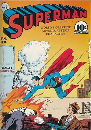 Superman (1939) 8-A