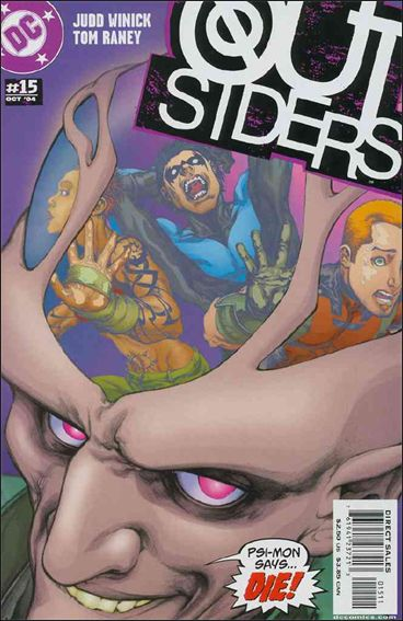 Outsiders (2003) 15-A by DC