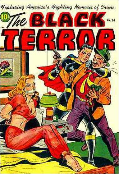 Black Terror (1942) 24-A by Nedor