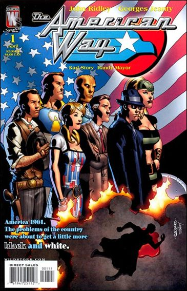 American Way 1-A by WildStorm Signature