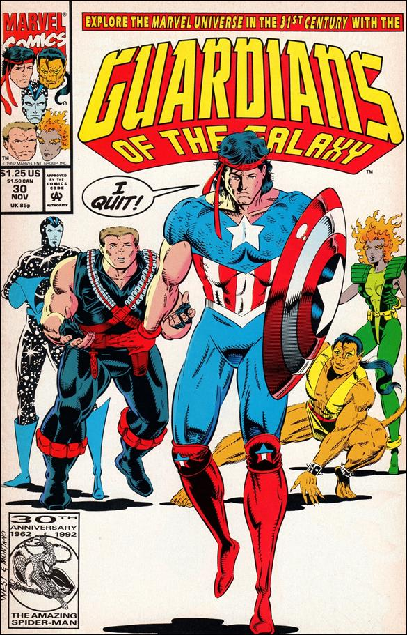 Guardians of the Galaxy (1990) 30-A by Marvel
