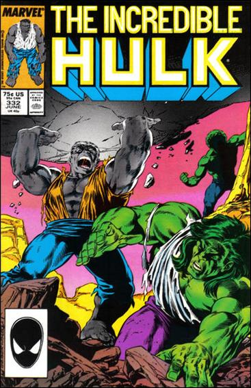 Incredible Hulk (1968) 332-A by Marvel