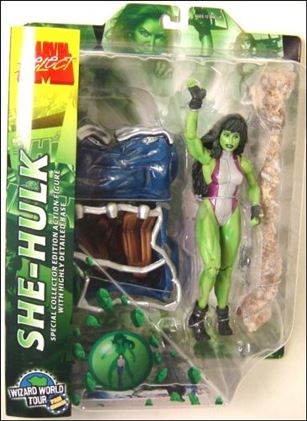 Marvel Select She Hulk 2006 Wizard World Toyfare