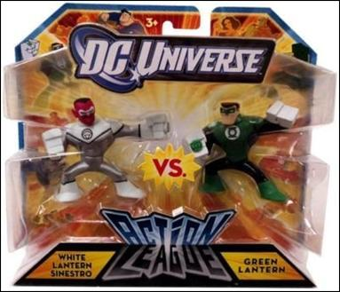 DC Universe: Action League White Lantern Sinestro vs. Green Lantern by Mattel