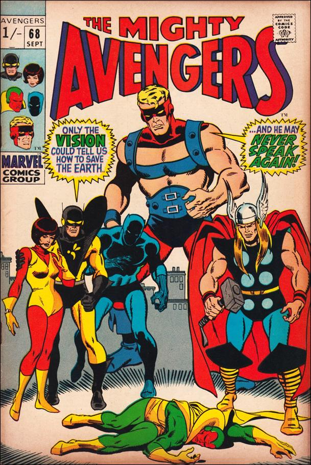Avengers (1963) 68-B by Marvel
