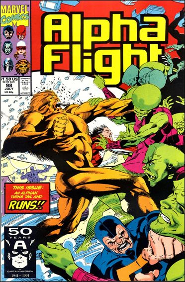 Alpha Flight (1983) 98-A by Marvel
