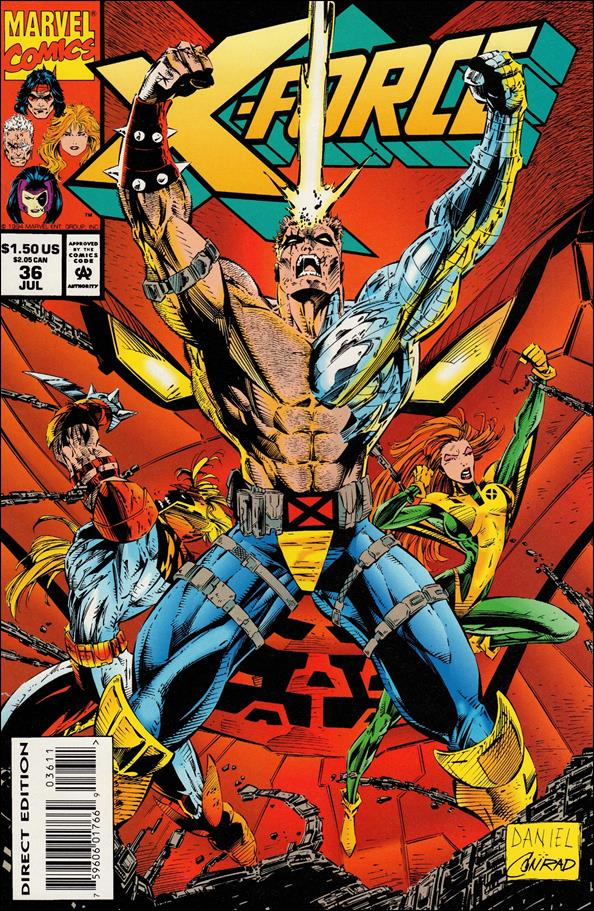X-Force (1991) 36-A by Marvel