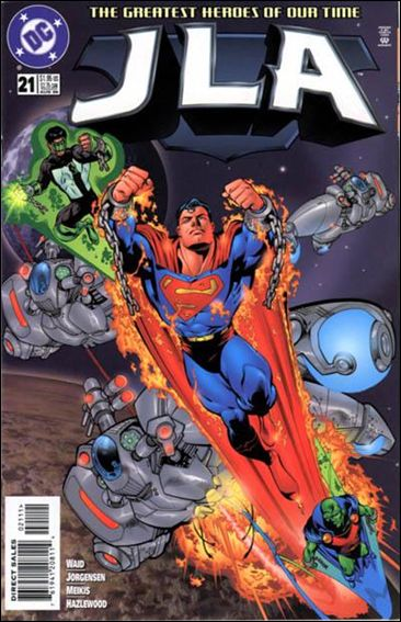 JLA 21-A by DC