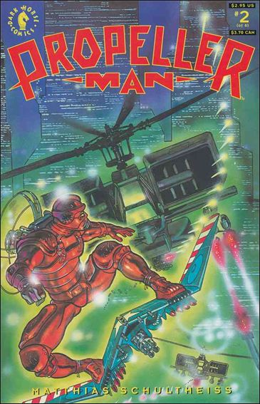 Propellerman 2-A by Dark Horse