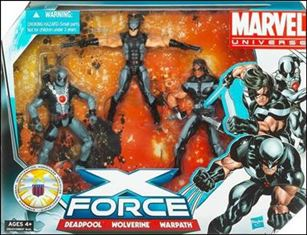 Marvel Universe (3-Packs) X-Force 3-Pack