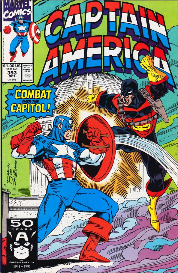 Captain America (1968) 393-A by Marvel