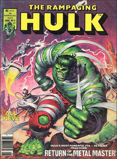 Rampaging Hulk (1977) 3-A by Marvel
