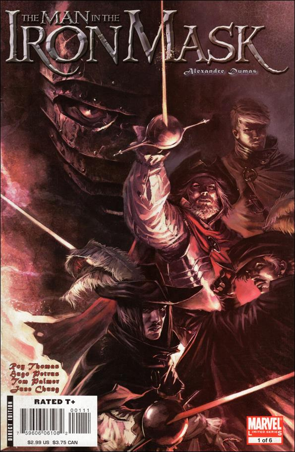 Marvel Illustrated: The Man in the Iron Mask 1-A by Marvel