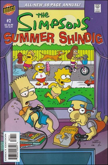 Simpsons Summer Shindig 2-A by Bongo