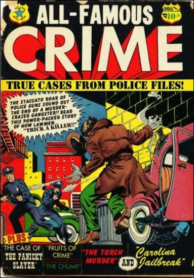 All-Famous Crime '8'-A by Star Publications