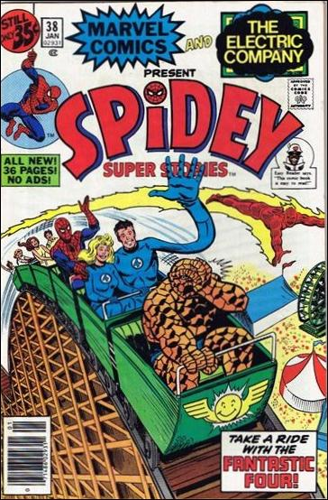 Spidey Super Stories 38-A by Marvel