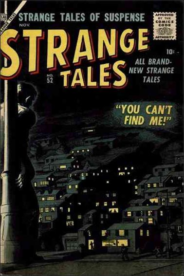 Strange Tales (1951) 52-A by Marvel