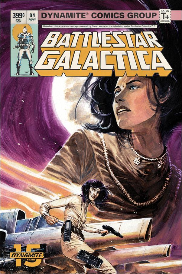 Battlestar Galactica (Classic) (2018) 4-A by Dynamite Entertainment